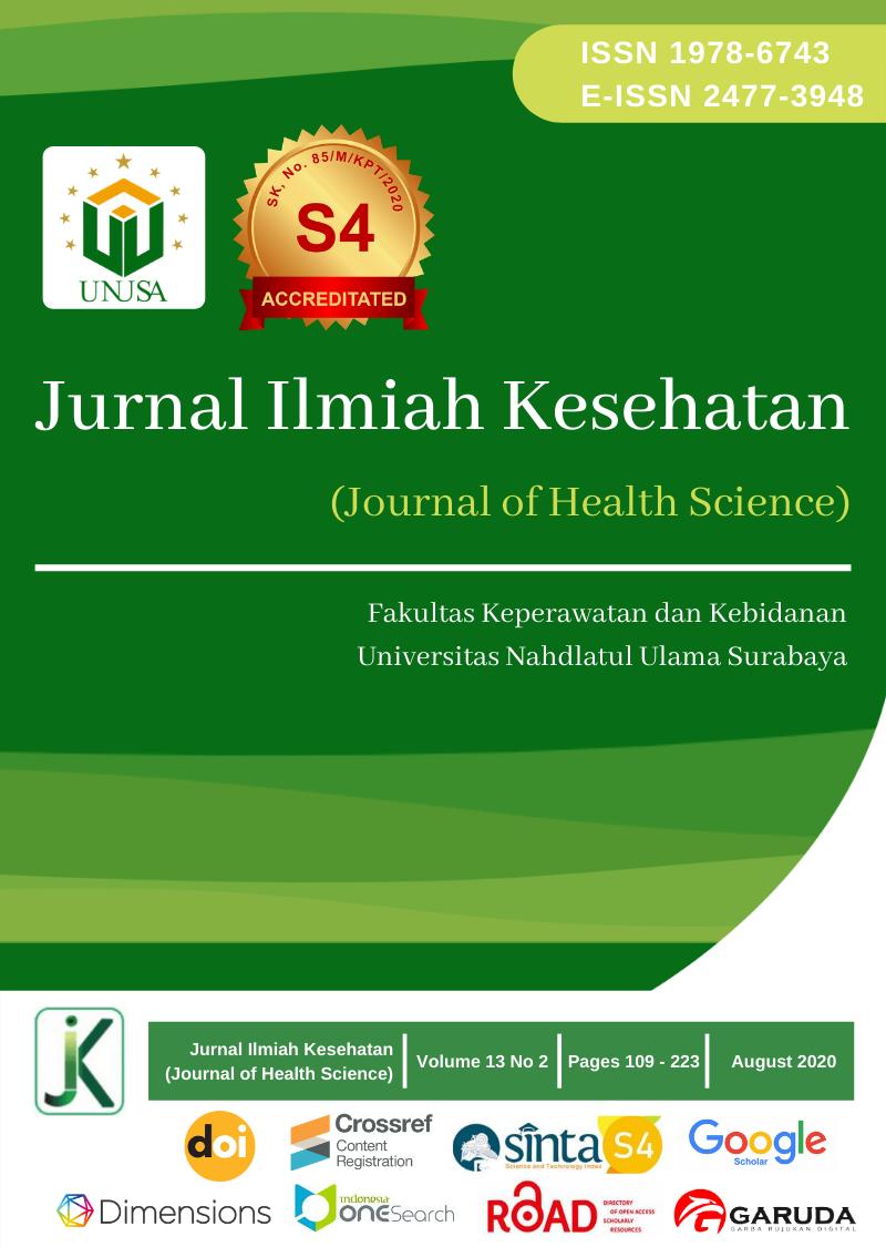 View Vol. 13 No. 2 (2020): Jurnal Ilmiah Kesehatan (Journal of Health Science)