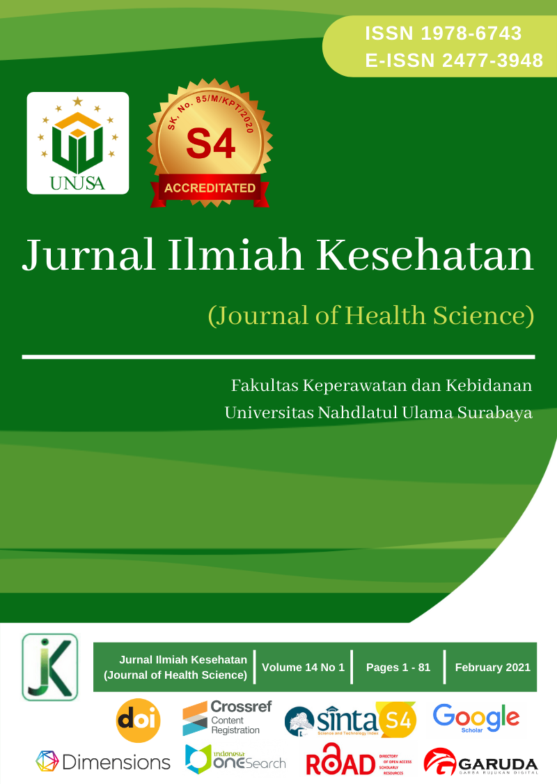 View Vol. 14 No. 1 (2021): Jurnal Ilmu Kesehatan (Journal of Health Sciences)