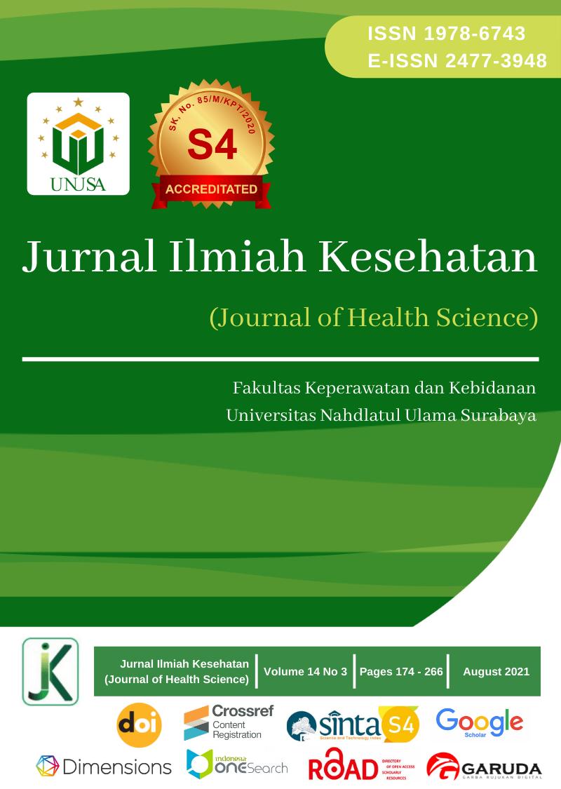 View Vol. 14 No. 3 (2021): Jurnal Ilmiah Kesehatan (Journal of Health Science)