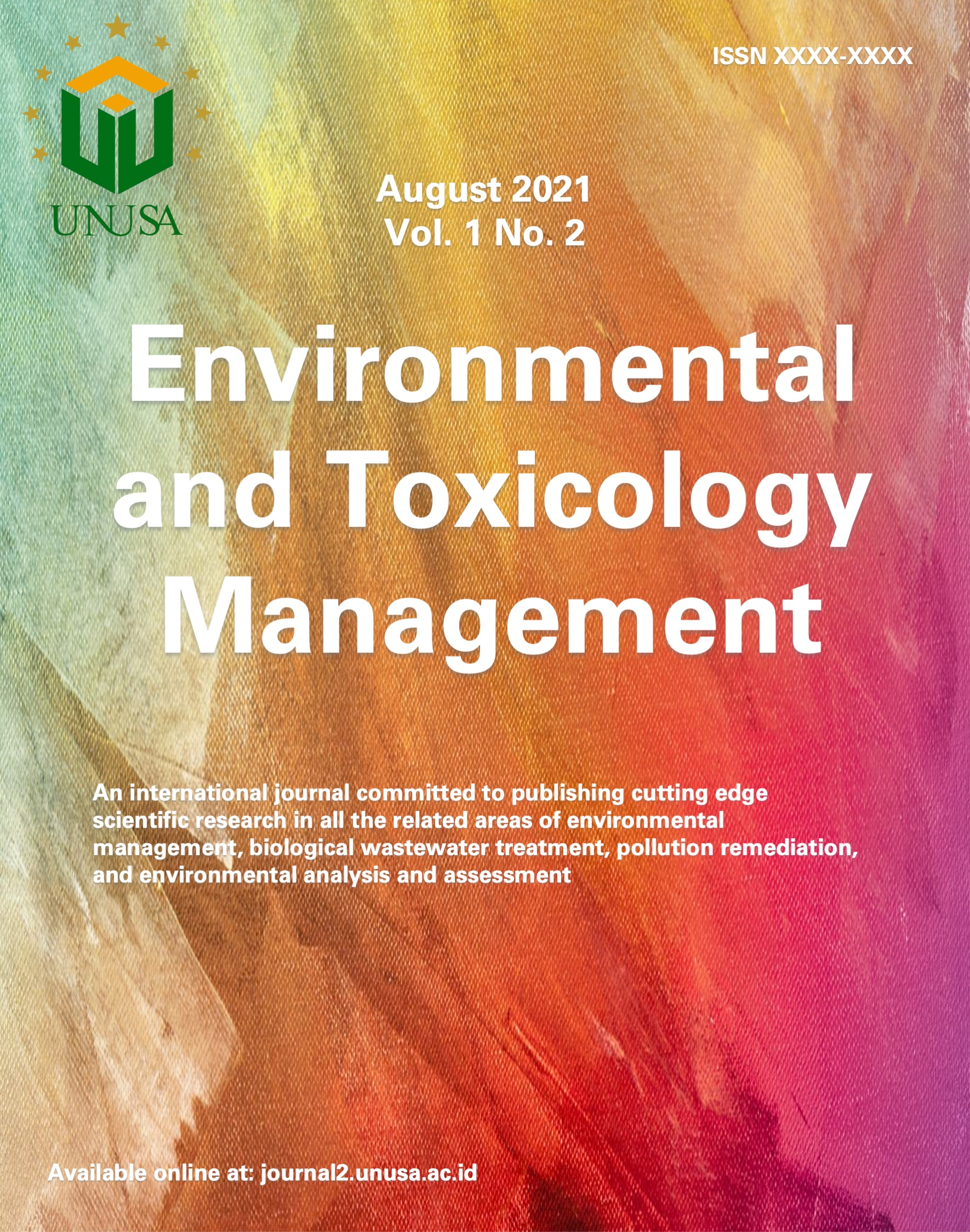 View Vol. 1 No. 2 (2021): Green chemistry for environmental problem solutions