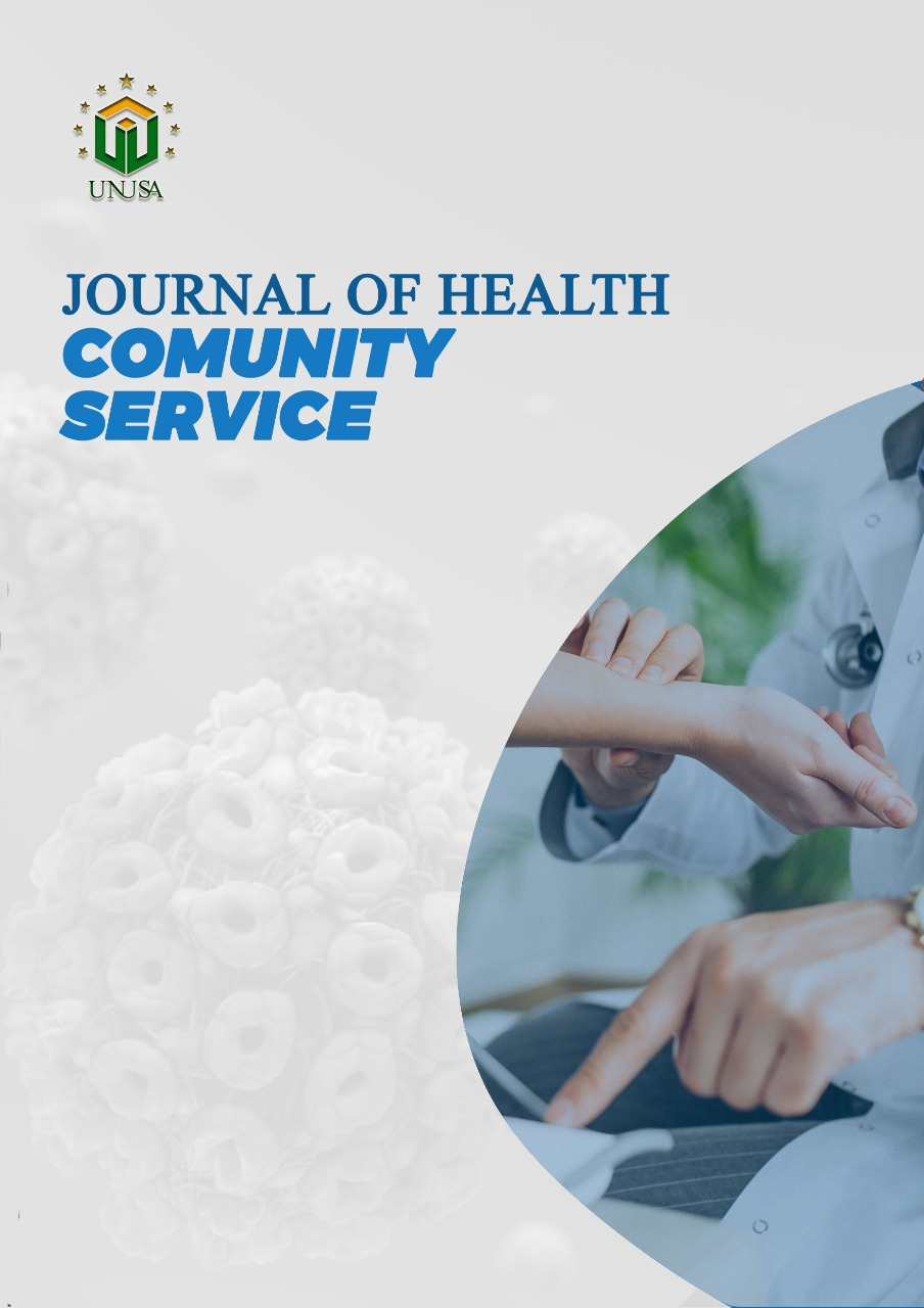 View Vol. 1 No. 2 (2021): Journal of Health Community Service: September 2021