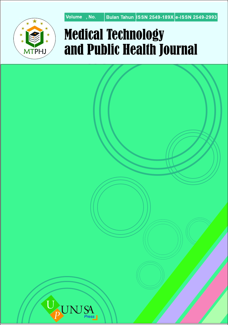 Medical Technology and Public Health Journal V4.1