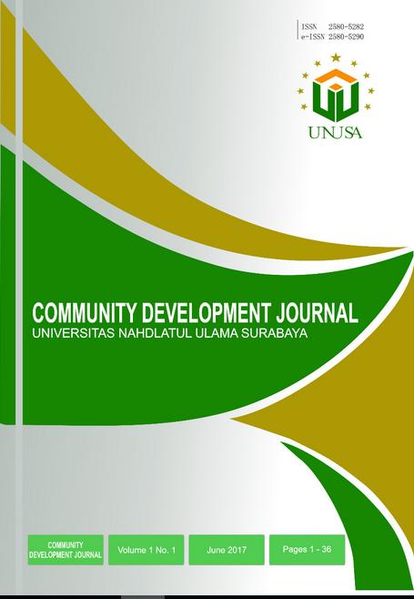 View Vol. 3 No. 2 (2019): Community Development Journal