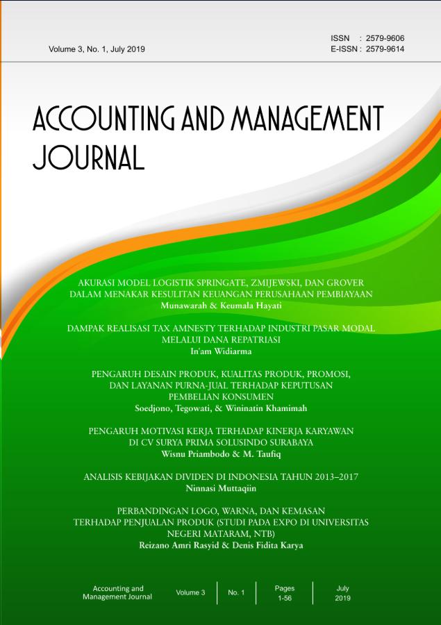 AMJ Vol 3, No. 2 December 2019